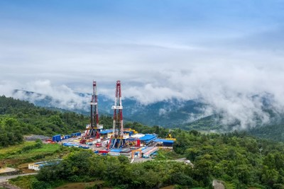 Sinopec Fuling Shale Gas Field Sets New Cumulative Production Record of 40 Billion Cubic Meters. (PRNewsfoto/SINOPEC)