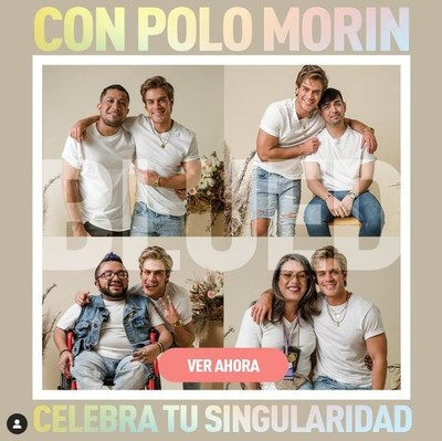 Blued partners with the Mexican actor Polo Morín on a video telling stories from under-represented groups within the LGBTQ+ community.