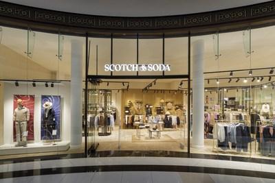 New Scotch&Soda store at the Mall of Berlin (PRNewsfoto/Scotch & Soda)