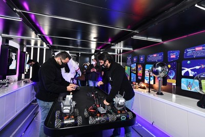 Designed by the educational platform Doping Technology, mobile science lab hopes to reach 60,000 children in remote parts of Turkey by end of next year