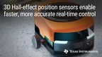 Industry's most accurate 3D Hall-effect position sensor provides...