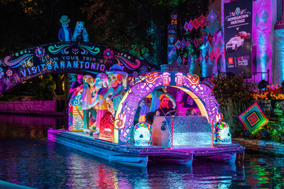Nation's largest Day of the Dead celebration, in San Antonio, returns with in-person events including the only of its kind river parade