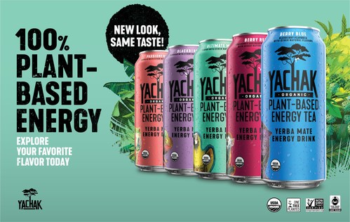 YACHAK now offers refreshed packaging across its five ready-to-drink, canned teas, but the flavor profiles of all five varieties remain the same.