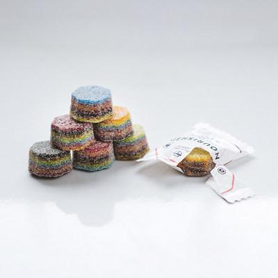 3D printed Nourished gummy supplements