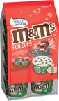 M&M'S® Ice Cream Unveils New Seasonal Holiday Fun Cups...