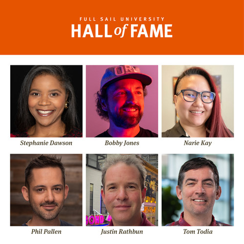 Full Sail University's 12th Annual Hall of Fame Induction Class