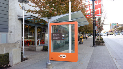 A&W and Coca-Cola Canada have partnered to launch an 'Exchangeable Cup' Test Across Vancouver (CNW Group/A&W Food Services of Canada Inc.)