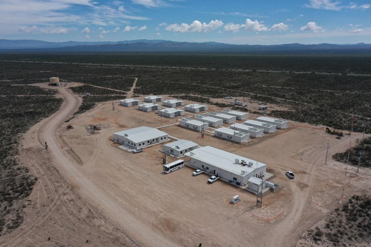 Figure 4: Camp Facilities (CNW Group/Orla Mining Ltd.)