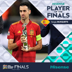 Hisense & UEFA Announced the Player of the Finals for the...