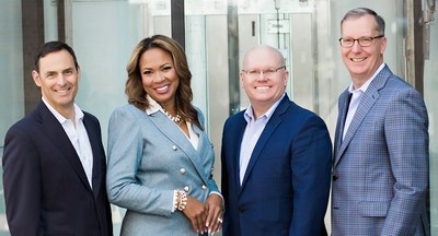 Credo ESG Solutions Leadership Team (L-R): COO and General Counsel William Pleasant, Chief Impact Officer Linda Shropshire Eudy, Global Head of Business Development Tom Goodrum, and CEO Brad Ives