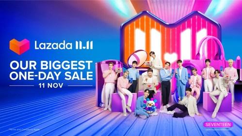Lazada welcomes leading K-pop superstars SEVENTEEN as first regional Happiness Ambassadors