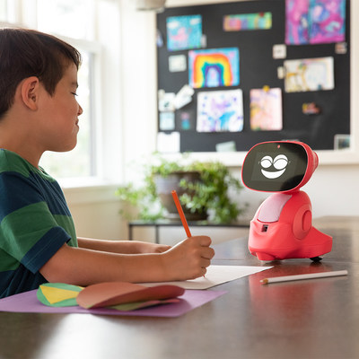 Conversations with Miko help build confidence and encourage creative interactions that are individual to every kid.