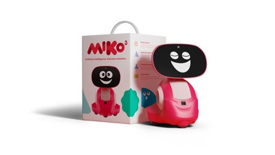Miko 3 is available for purchase in two colors - Martian Red and Pixie Blue.