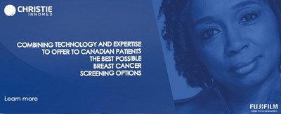 Combining technology and expertise to offer Canadian patients the best possible breast cancer screening options (CNW Group/Christie Innomed)