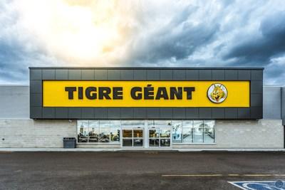 Giant Tiger Stores Limited a annoncé, aujourd'hui, l'ouverture officielle d'un nouveau magasin à Sorel-Tracy, au Québec, qui aura lieu le samedi 16 octobre. (Groupe CNW/Giant Tiger Stores Limited)