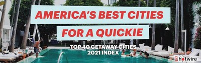 To create the 2021 index, the travel experts analyzed over 10,000 data points across more than 350 cities, with a focus on 4 and 5-star hotels which offer the most-wanted amenities for a truly leveled-up experience