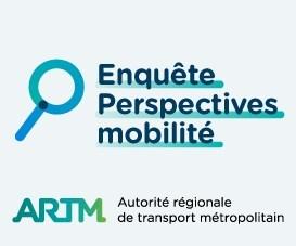Jusqu'au 30 novembre 2021, l'ARTM invite les citoyens, étudiants et travailleurs à remplir le questionnaire en ligne au 2021.mobilite.quebec. (Groupe CNW/Autorité régionale de transport métropolitain)