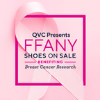 """""""QVC Presents 28th Annual FFANY Shoes on Sale"""" Fundraiser on Track to Top $60 Million After Campaign Wraps on December 31"""