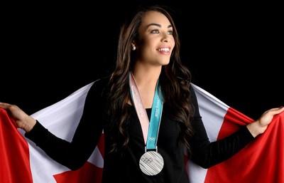 À l'approche des Jeux de Beijing 2022, la médaillée olympique Sarah Nurse (hockey sur glace) intègre l'Équipe RBC composée de 55 athlètes canadiens. Source de la photo : Matthew Murnaghan / Hockey Canada Images (Groupe CNW/RBC Groupe Financier)