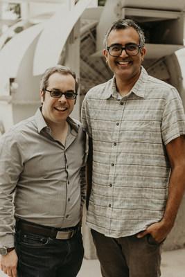 Left to right: Matt Howitt (CEO and Founder), Nirav Bhagat (CMO and Cofounder)