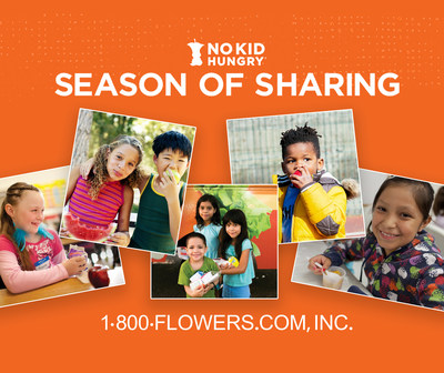 1-800-FLOWERS.COM, Inc. Launches Holiday Campaign to Support No Kid Hungry