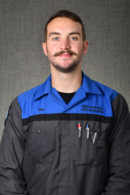 The winner of the 2021 Subaru National Technician Competition, Tau Jeppesen, is a Senior Master Service Technician at Larry H. Miller Subaru in Boise, ID. Next year, Jeppesen will compete in the Subaru World Technical Competition in Japan representing the U.S.