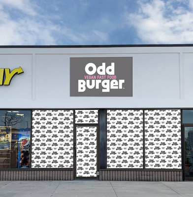 Odd Burger Vegan Fast Food, 920 Upper Wentworth Street Unit 5, Hamilton ON (CNW Group/Odd Burger Corporation)