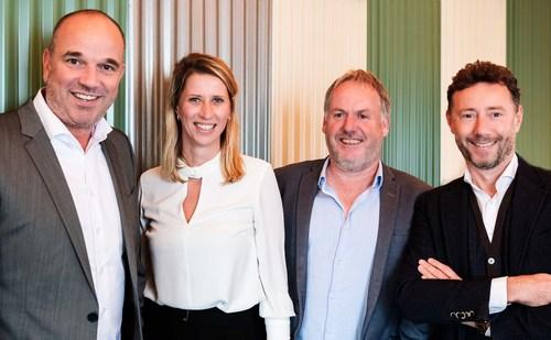 Left to right: Willem-Jan Nouwens, Samantha Catsburg, Michael Gottmer, Rudiger Wanck