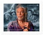 Christopher Plummer honoured with new commemorative stamp