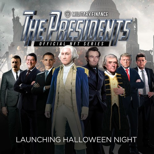 The Official NFT Presidential Series - Launching Halloween Night