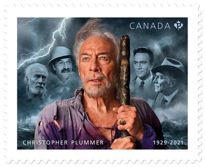 Timbre de Christopher Plummer (Groupe CNW/Postes Canada)