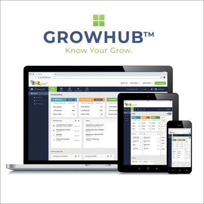 TSRgrow is excited to announce the recent expansion of their lighting control, power and environmental control and monitoring platform, GROWHub™. GROWHub™ is a cultivator's autopilot solution that allows you to manage, track and control your cultivation environment. GROWHub™ provides real time and historical data to help monitor, control and analyze past and present grow cycles. With GROWHub™ you'll always have the data to be in the KNOW.