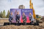 Devimco Immobilier及其合作伙伴开始建造Auguste &路易项目