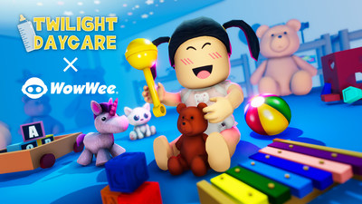 WowWee will launch a doll line based on the hit game Twilight Daycare beginning spring 2022