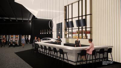 Bar central du Salon de jeux (Groupe CNW/Loto-Québec)