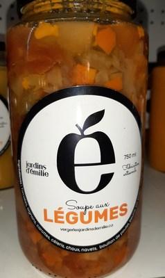Soupe aux légumes 750 ml (Groupe CNW/Ministère de l'Agriculture, des Pêcheries et de l'Alimentation)
