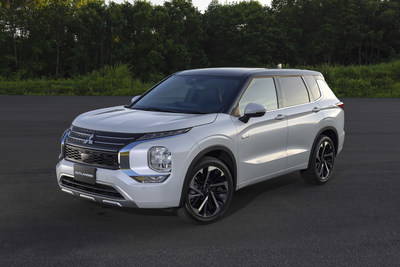 Mitsubishi Motors reveals the design of the all-new Outlander PHEV model which is slated to make its debut in the U.S. in the second half of 2022.
