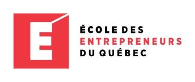 Logo École des entrepreneurs du Québec (Groupe CNW/Association québécoise des technologies (AQT))