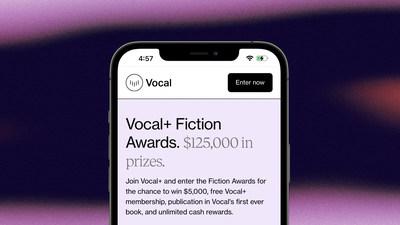 Vocal+ Fiction Awards