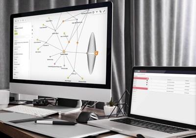 La plateforme Linkurious Enterprise combine détection, gestion des cas et exploration des données dans un seul espace de travail