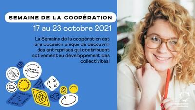 Semaine de la coopération 2021 (Groupe CNW/Conseil québécois de la coopération et de la mutualité)