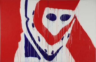 Serge Lemoyne, Dryden, 1975. Acrylic on canvas, 224 x 346 x 5 cm. The Montreal Museum of Fine Arts. Purchase, The Montreal Museum of Fine Arts' Volunteer Association Fund (2000.8.1-2) © Serge Lemoyne Estate / SOCAN (2020). Photo: MMFA, Jean‑François Brière (CNW Group/Musée national des beaux-arts du Québec)