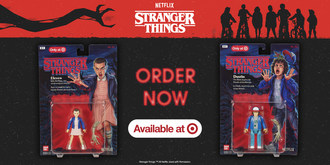 Bandai America brings Target to the Upside Down with Exclusive