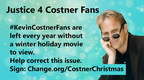 Kevin Costner Fans Ask For a Holiday Movie; The Petition Explodes