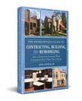 New Home Improvement Book Shows Homeowners How to Save Money When Building or Remodeling Without Sacrificing Quality