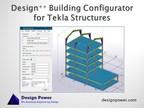 Design Power Demonstrates Building Configurator for Tekla Structures