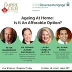专家们分享了帮助加拿大人在家养老的实用策略