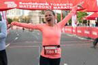加拿大丰业银行多伦多海滨马拉松1万公里返回现场比赛与售罄的场地