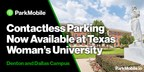 ParkMobile and Texas Woman's University Partner for Contactless Campus Parking