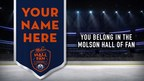 Molson Canadian and the Edmonton Oilers Introduce the Molson Hall of Fan to Enshrine Canadian Hockey Fans